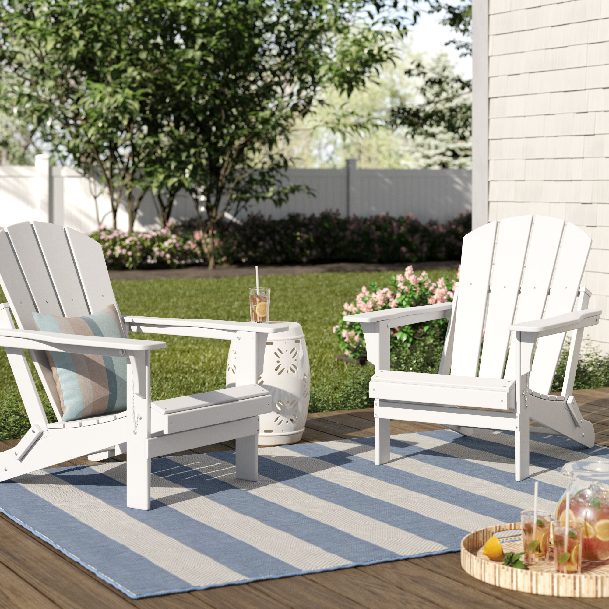 Cool Rosecliff Heights Lopes Plastic Resin Folding Adirondack Pdpeps Interior Chair Design Pdpepsorg