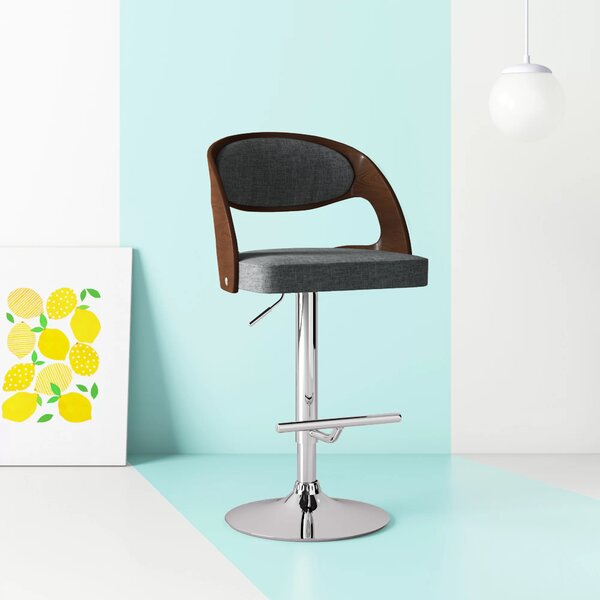 Ace Adjustable Swivel Bar Stool By Hashtag Home