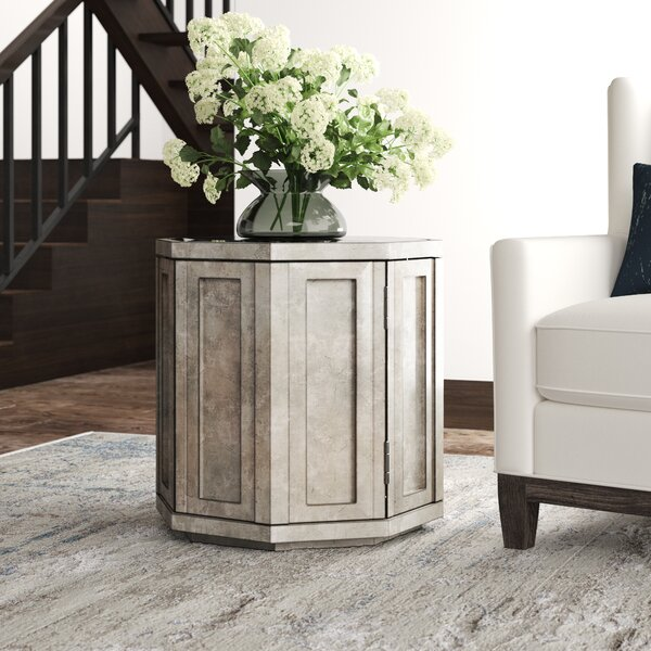 Ariana Rochelle Octagonal End Table With Storage By Lexington Purchase