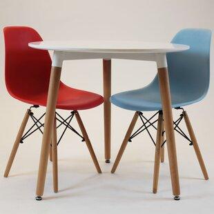 Sola Circular Wooden 5 Piece Dining Set ByBrayden Studio