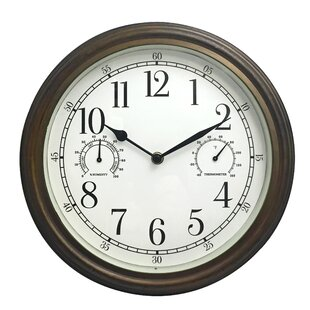 Outdoor Clocks You\'ll Love | Wayfair