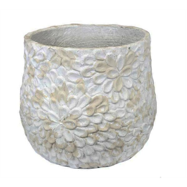 Prichard Floral Embossed Pot Planter by One Allium Way