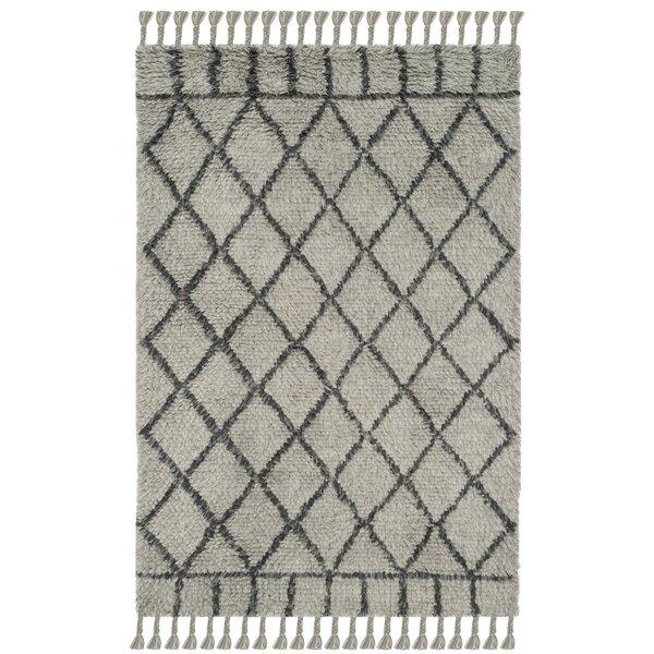 Livingston Hand-Tufted Gray Area Rug by Mistana