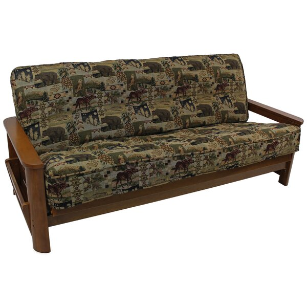 Tapestry Box Cushion Futon Slipcover by Blazing Needles