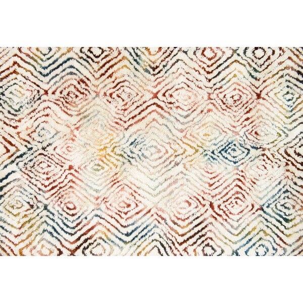 Justina Blakeney Folklore Hand-Woven Ivory/Prism Area Rug by Loloi Rugs