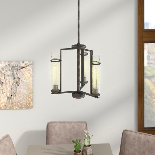 Wetumka 3 - Light Shaded Classic / Traditional Chandelier By Trent Austin Design