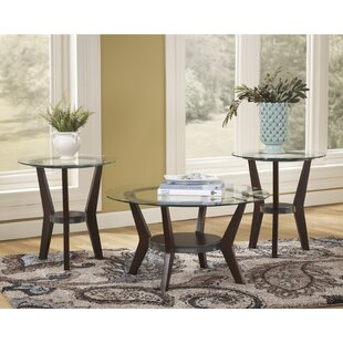 Butcombe 3 Piece Coffee Table Set Latitude Run