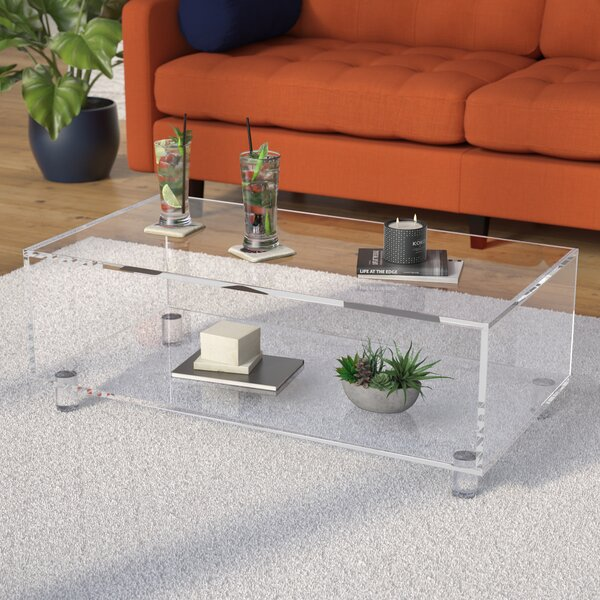Bogardus Modern Coffee Table by Mercury Row