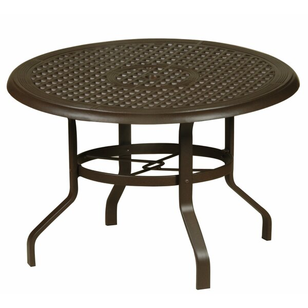 Domenic Metal Dining Table by Darby Home Co