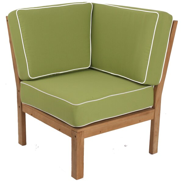 Kensington Teak Patio Chair with Cushions by Cambridge Casual
