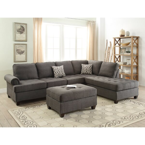 Reiche Reversible Sectional By Ebern Designs Sale