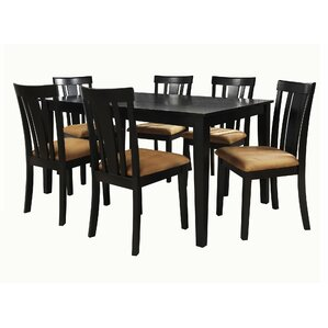 7 Piece Kitchen   Dining Room Sets You ll Love   Wayfair. Modern Wood Dining Room Sets. Home Design Ideas