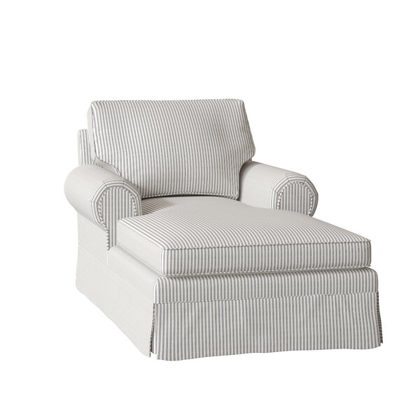 Lily Chaise Lounge by Wayfair Custom Upholstery��