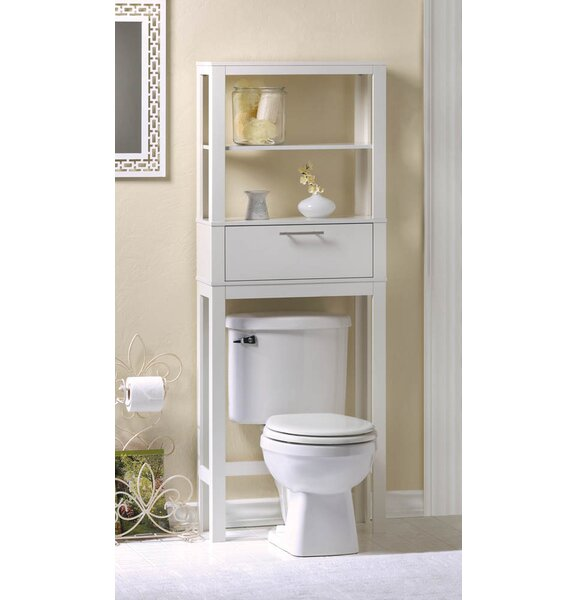 Vogue 23.75 W x 62 H Over the Toilet Storage by Zingz & Thingz