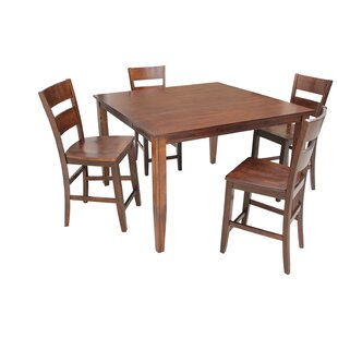 Blairmore 5 Piece Counter Height Dining Set By TTP Furnish