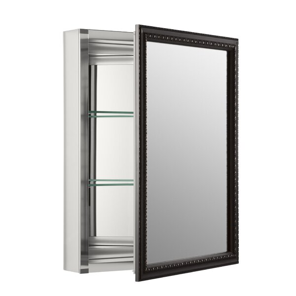 20 x 26 Wall Mount Mirrored Medicine Cabinet with Mirrored Door by Kohler
