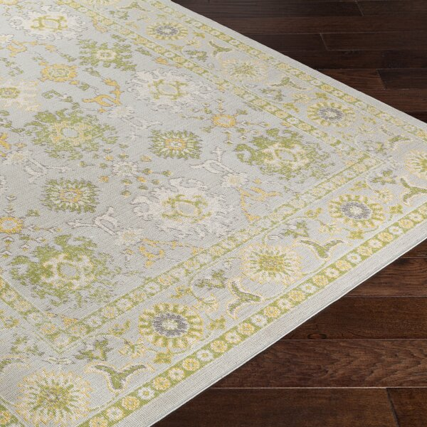 Velay Gray/Green Area Rug by Lark Manor