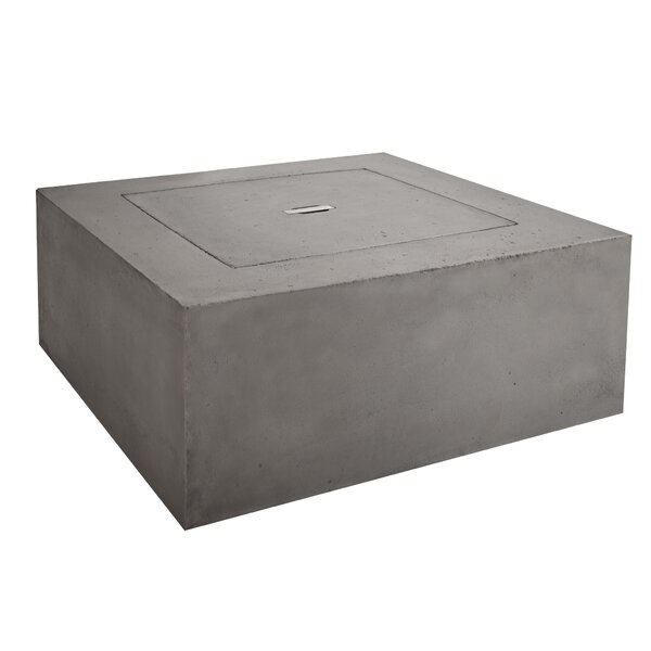 Baltic Concrete Propane Fire Pit Table by Real Flame Real Flame
