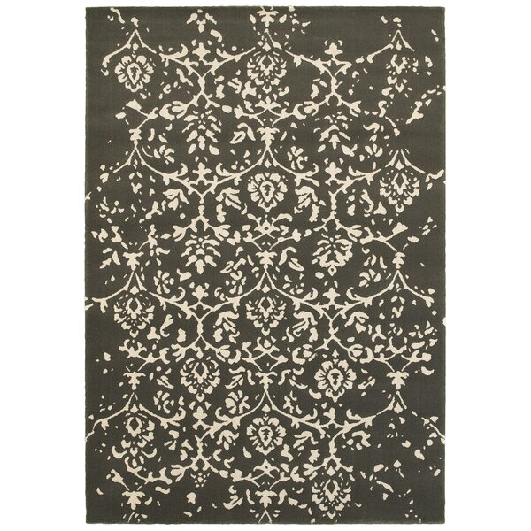 Fruge Dark Brown/Beige Area Rug by Red Barrel Studio