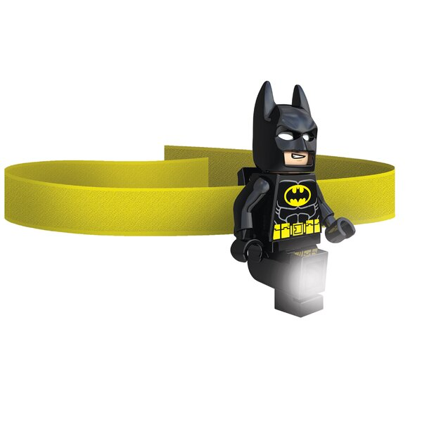 Lego DC Universe Super Hero Batman Head Lamp by Santoki