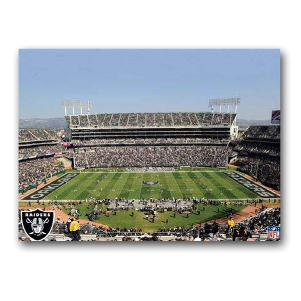 NFL Stadium Photographic Print on Canvas by Artissimo Designs
