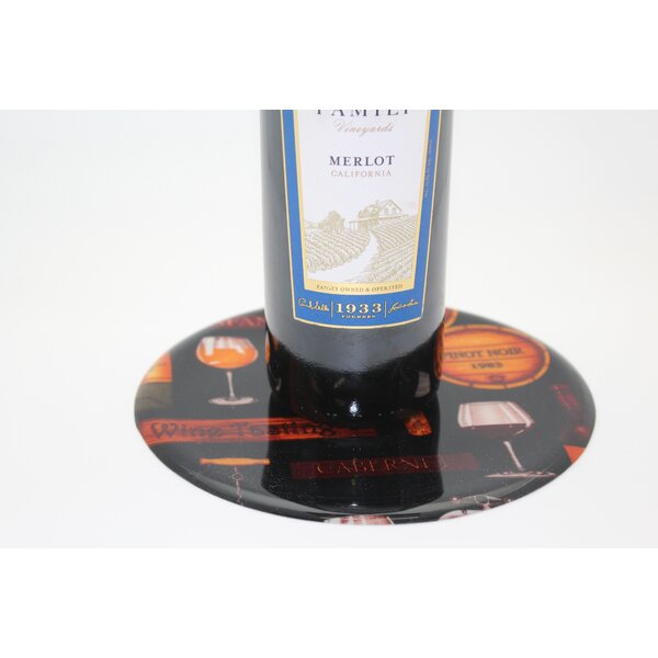 Wine Tasting Trivet by Andreas Silicone Trivets