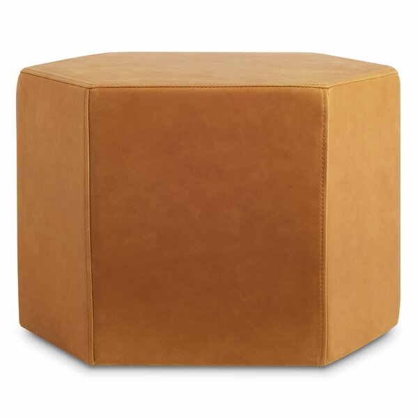Hecks Leather Ottoman By Blu Dot