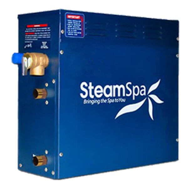 SteamSpa 12 KW QuickStart Steam Bath Generator by Steam Spa