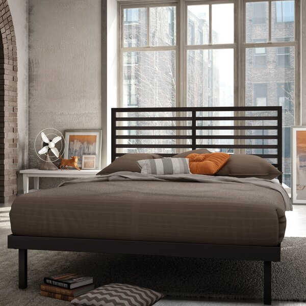 Pellegrin Platform Bed by Williston Forge