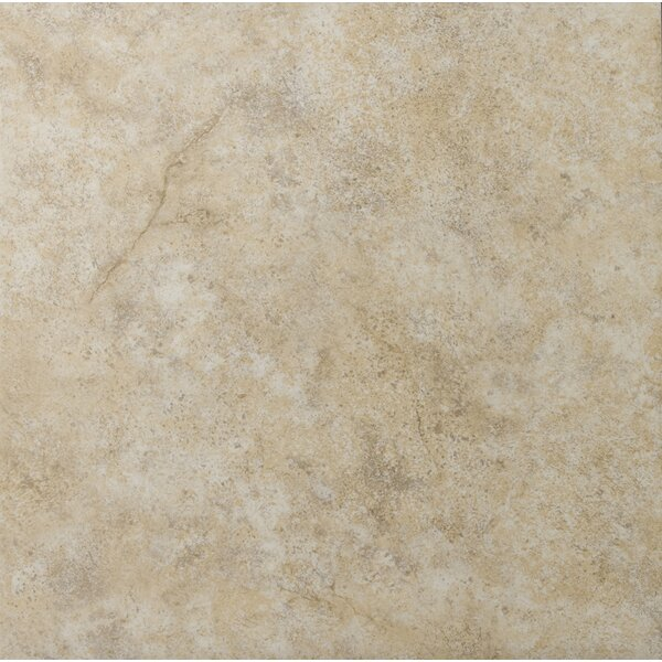 Toledo 17 x 17 Ceramic Field Tile in Beige by Emser Tile