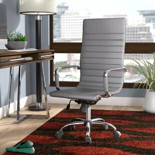 Leather Office Chairs Youu0027ll Love   Wayfair