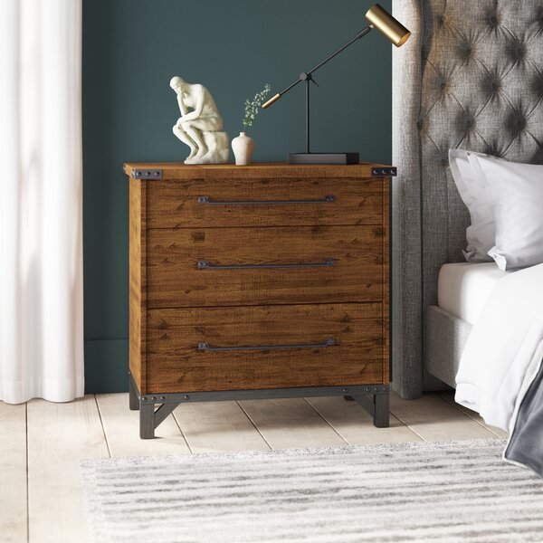 Caseareo 3 Drawer Accent Chest