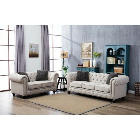 Howse 2 Piece Living Room Set by Alcott Hill