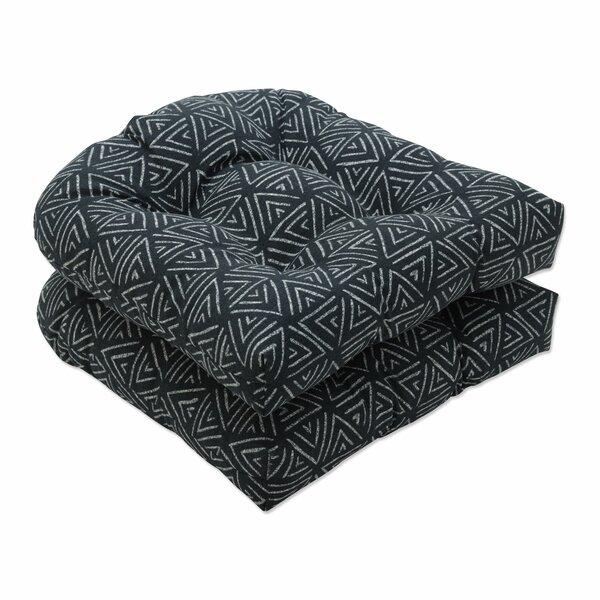 Kuka Flame Indoor/Outdoor Seat Cushion (Set of 2)