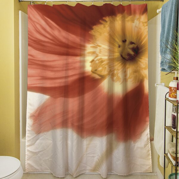 Mystic Poppy I Shower Curtain by Manual Woodworkers & Weavers