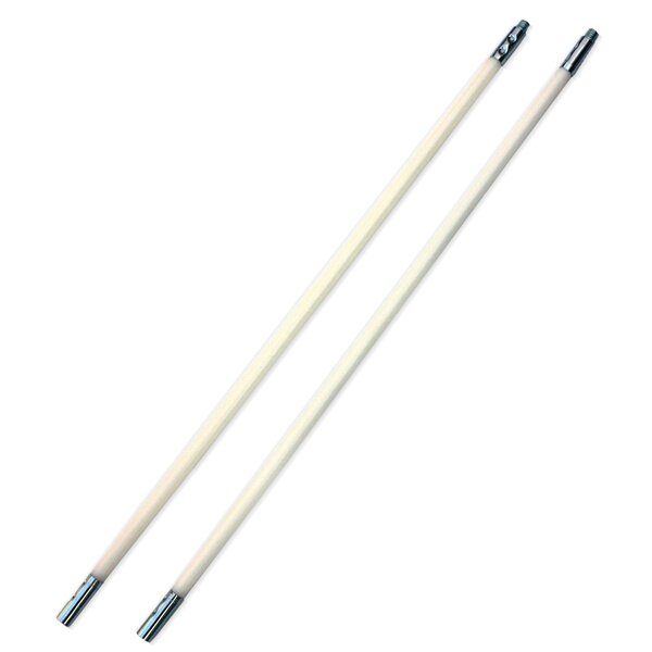 SootEater Pellet Stove Extension Rods (Set of 2) by HY-C
