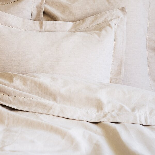 Hemstitch Duvet Cover by Elisabeth York