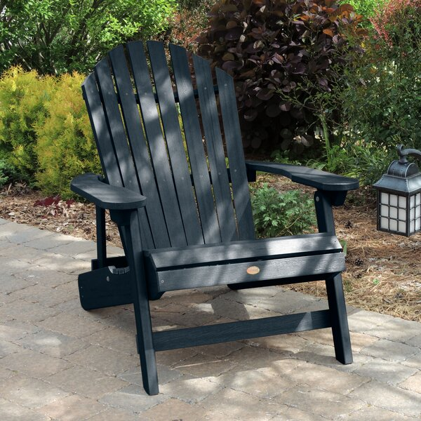 Camacho King Plastic Folding Adirondack Chair by Longshore Tides