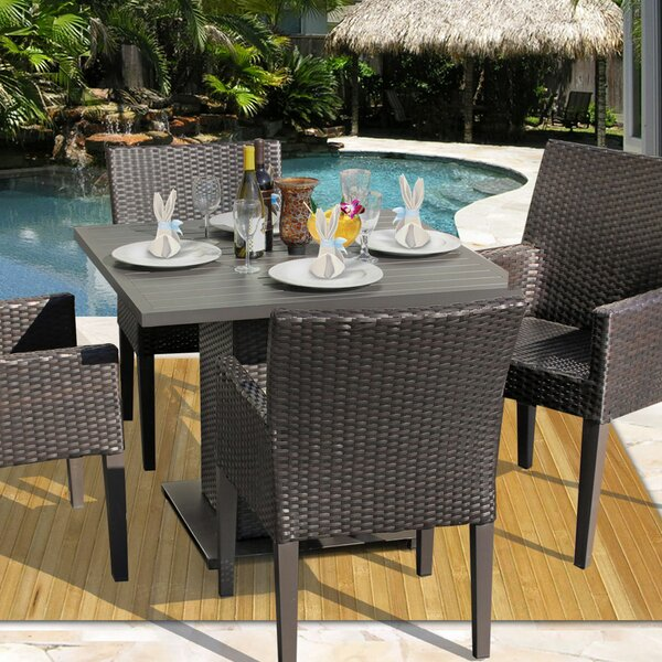 Tegan 5 Piece Dining Set by Sol 72 Outdoor