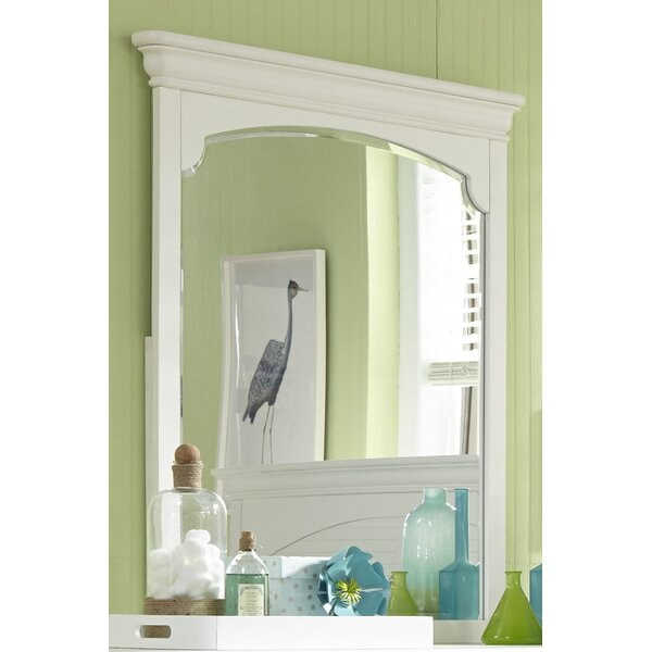 Crawfordville Rectangular Dresser Mirror by Harriet Bee