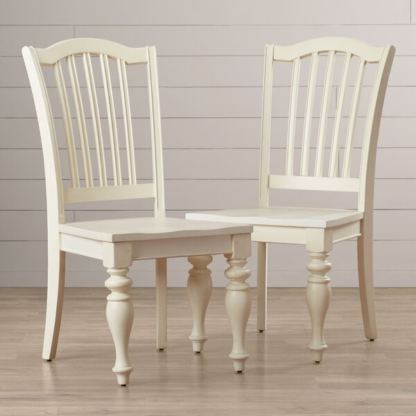 Margate Solid Wood Dining Chair (Set of 2) by Three Posts