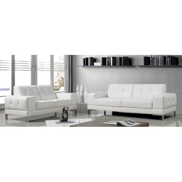 Zorski 2 Piece Living Room Set by Orren Ellis