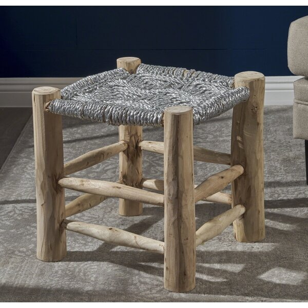 Sid Accent Stool by Bungalow Rose