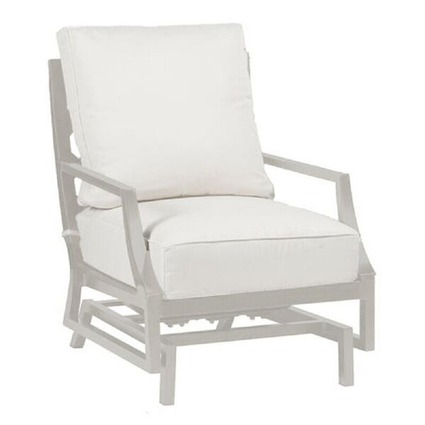Lattice Spring Patio Chair with Cushions by Summer Classics