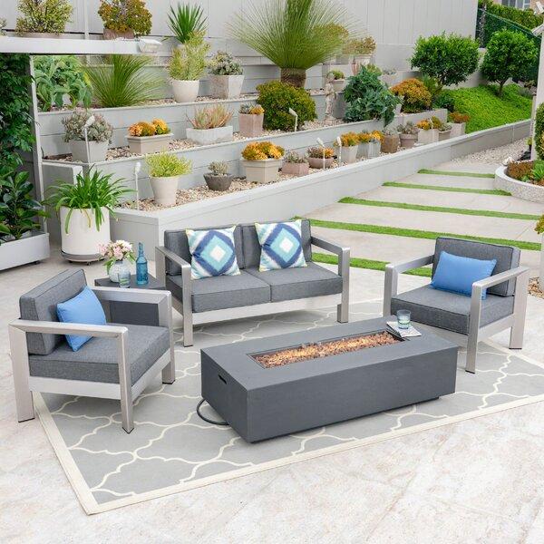 Wetumka 5 Piece Sofa Seating Group by Orren Ellis