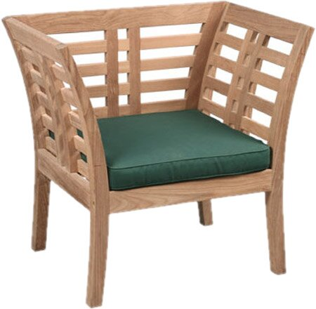 Fleischer Teak Patio Chair (Set of 2) by Bloomsbury Market