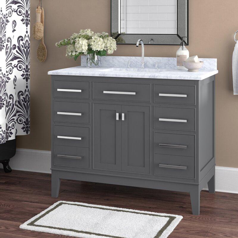 Arminta 42 Single Bathroom Vanity Set