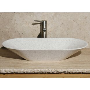 Affordable Price Stone Oval Vessel Bathroom Sink By Allstone Group