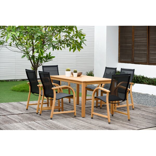 Cyr 7 Piece Dining Set (Set of 7) by Charlton Home