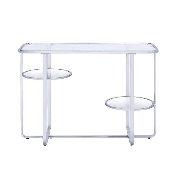 Orren Ellis Glass Console Tables